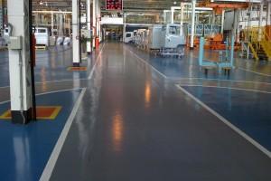 ESP revestimento piso Mercedes